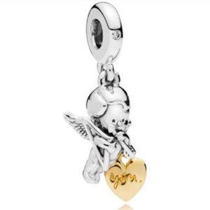 Jewelry - PANDORA 2019 Valentine Cupid & You Charm